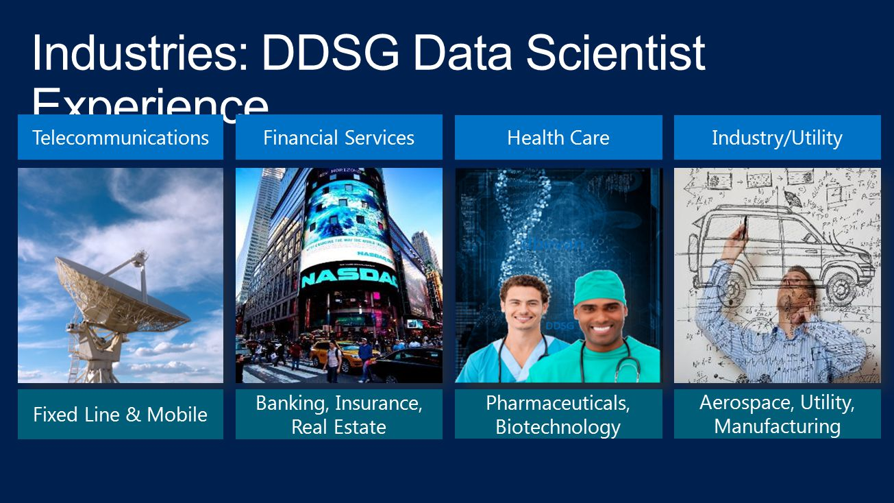 Industries: DDSG Data Scientist Experience