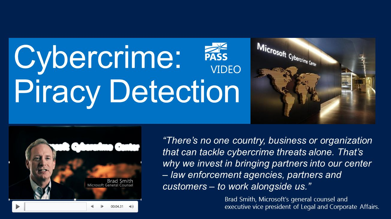 Cybercrime: Piracy Detection