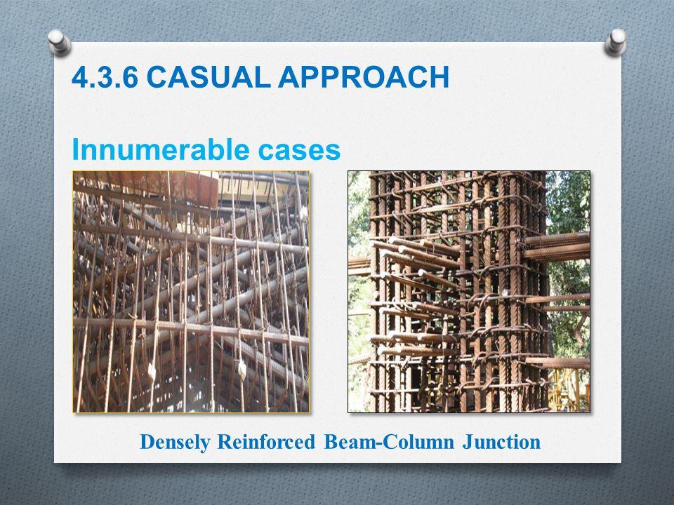 Densely Reinforced Beam-Column Junction