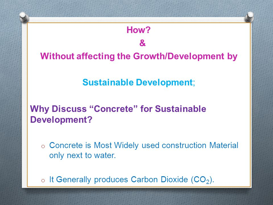 Without affecting the Growth/Development by