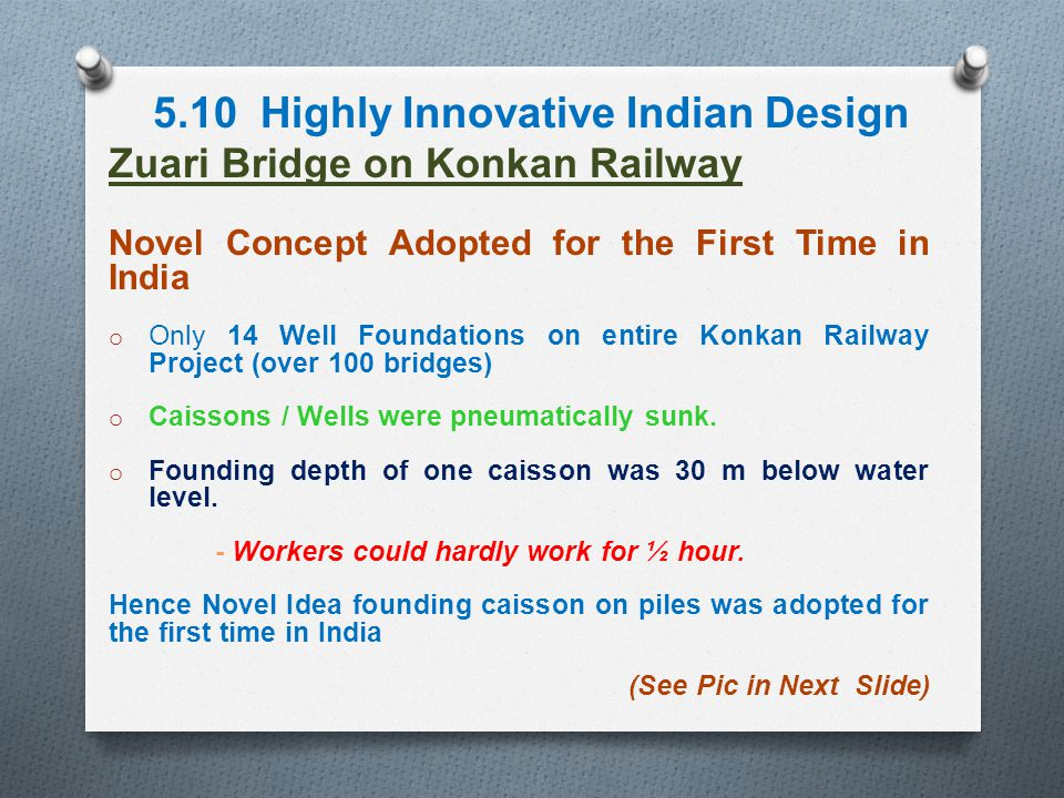 5.10 Highly Innovative Indian Design