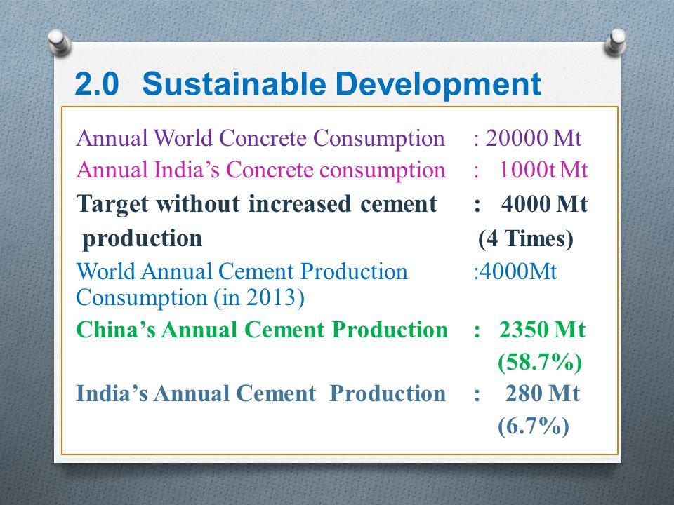 2.0 Sustainable Development
