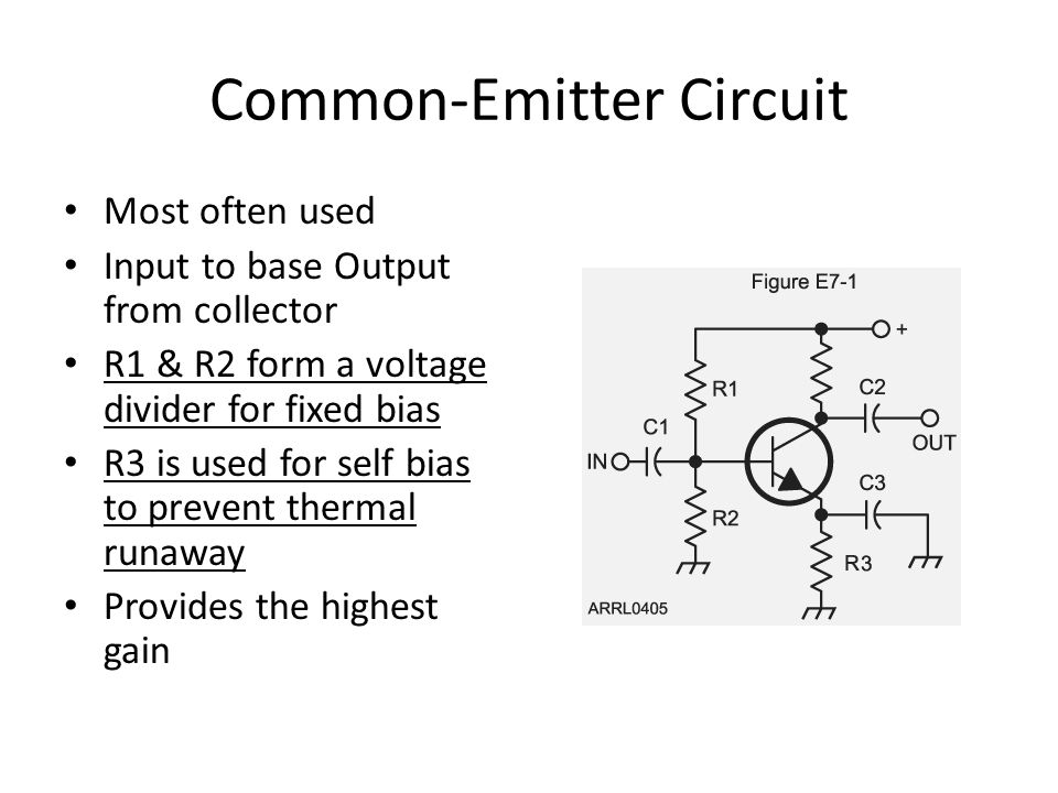 Common-Emitter Circuit