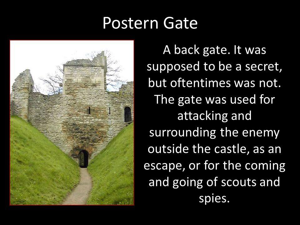 Postern Gate