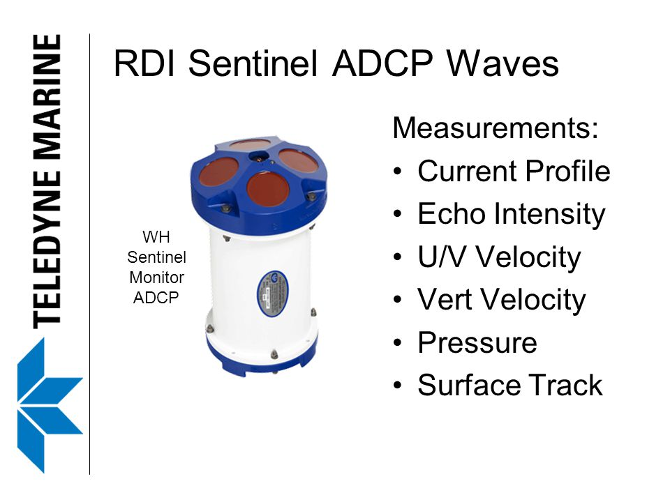 RDI Sentinel ADCP Waves