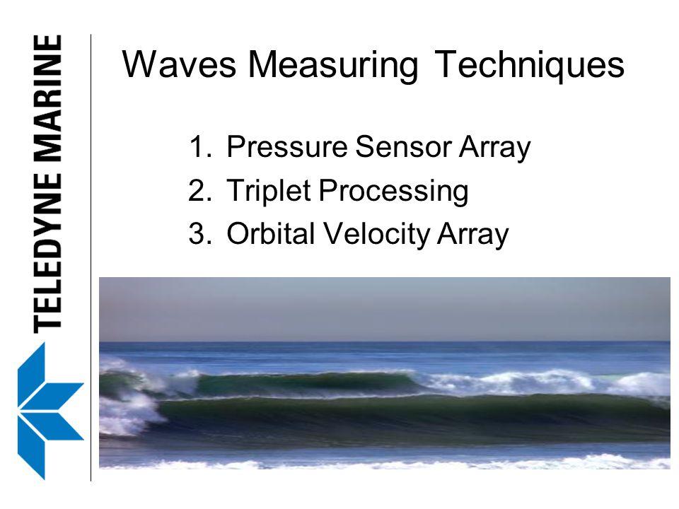 Waves Measuring Techniques