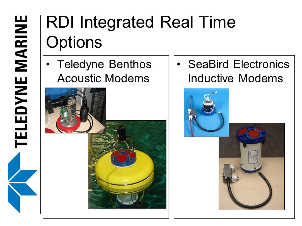 RDI Integrated Real Time Options