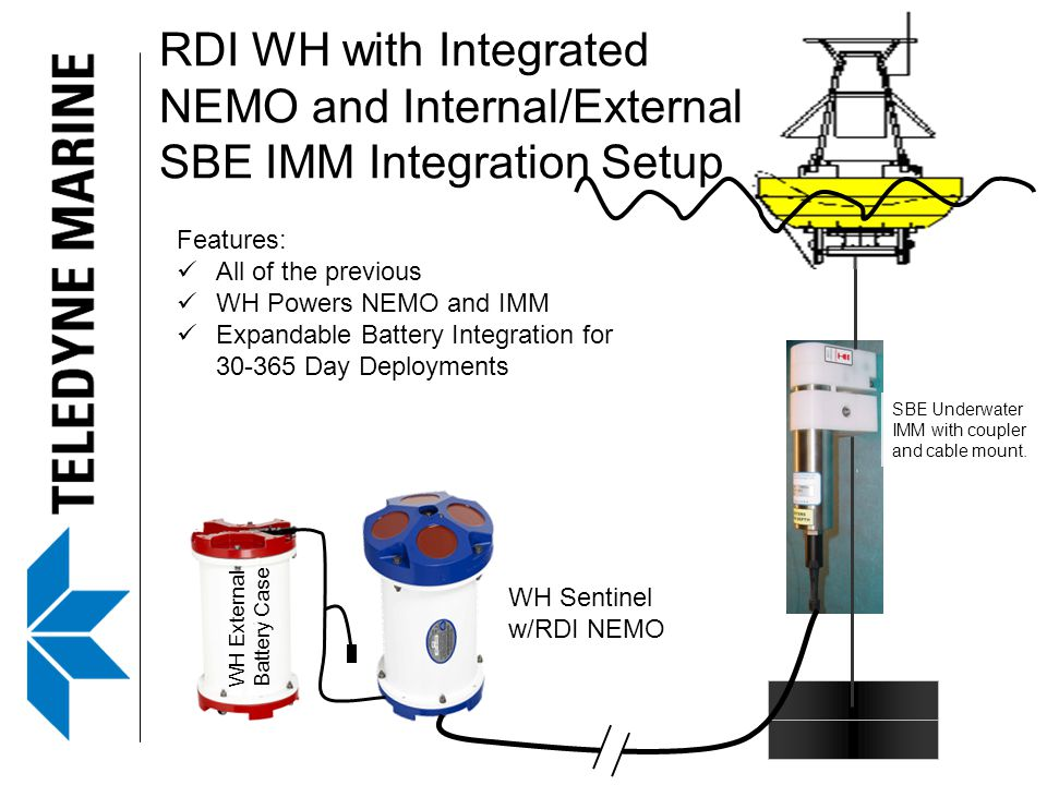 RDI WH with Integrated NEMO and Internal/External SBE IMM Integration Setup