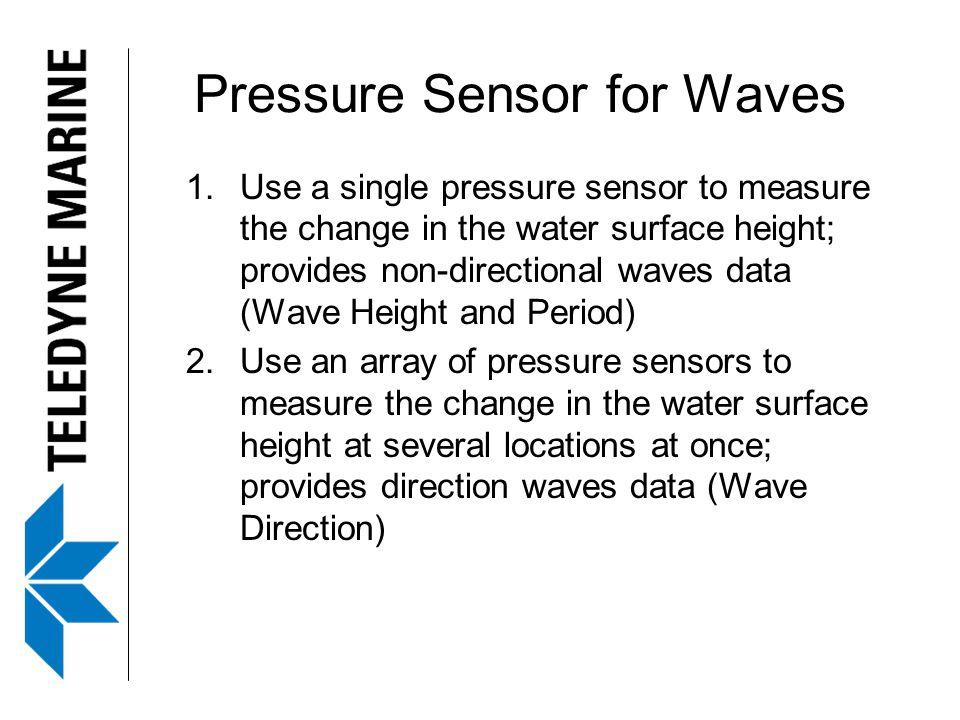 Pressure Sensor for Waves