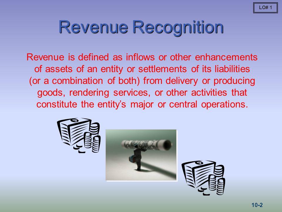 LO# 1 Revenue Recognition.