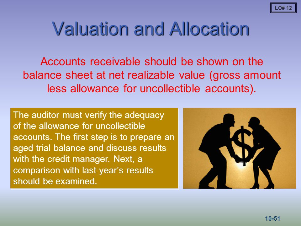 Valuation and Allocation