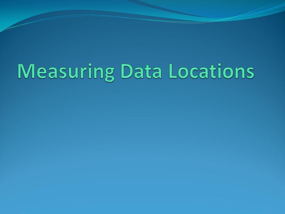 Measuring Data Locations