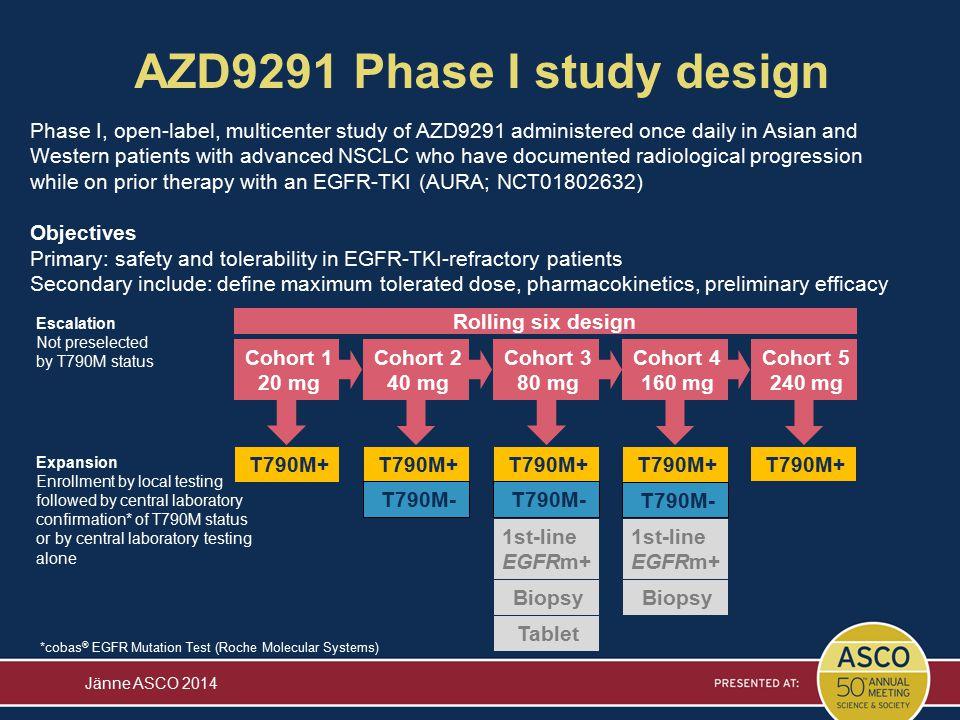 AZD9291 Phase I study design