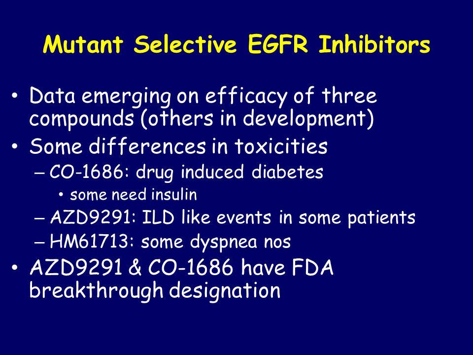 Mutant Selective EGFR Inhibitors