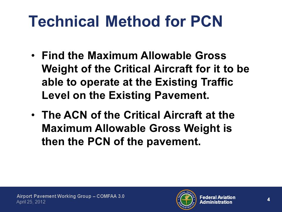 Technical Method for PCN