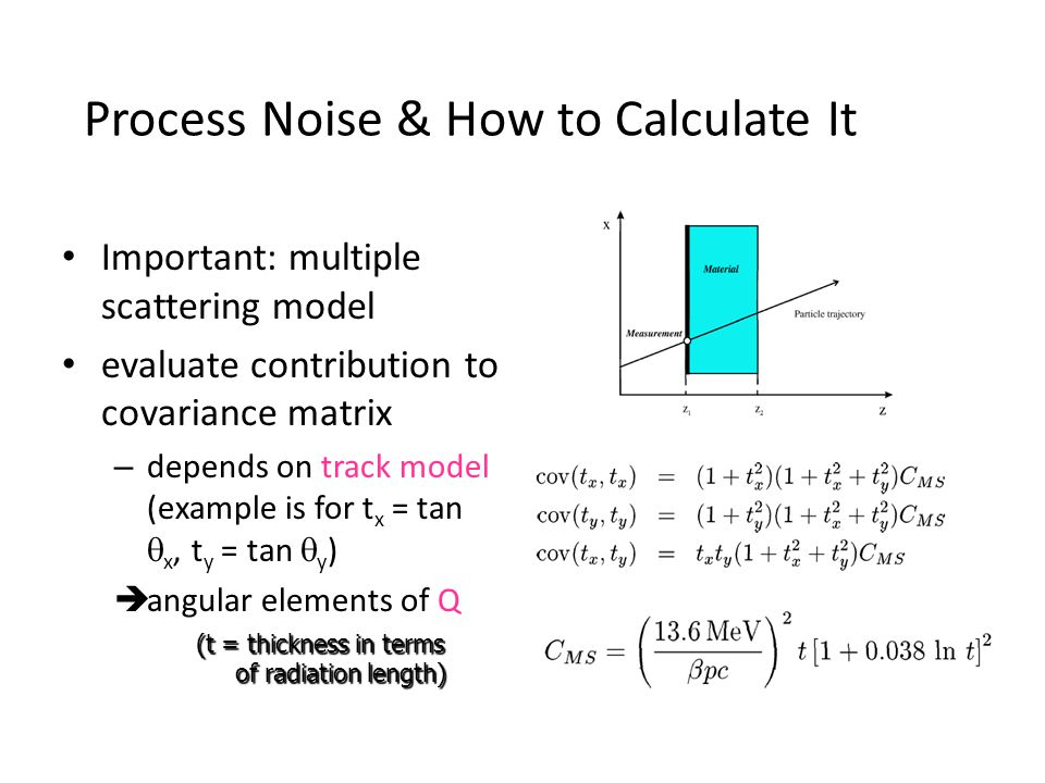 Process Noise & How to Calculate It