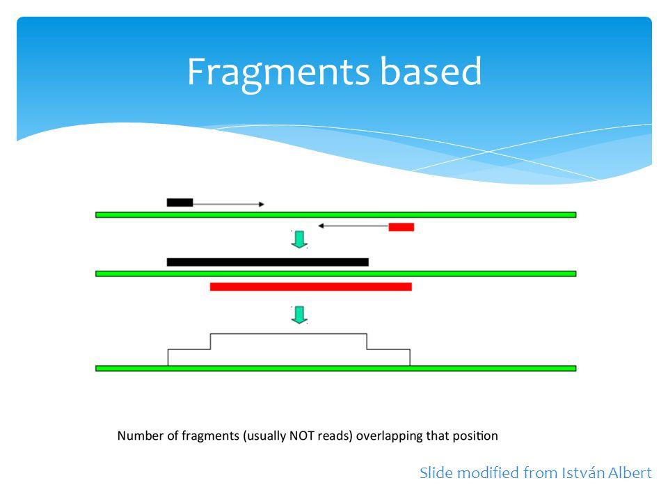 Fragments based Slide modified from István Albert