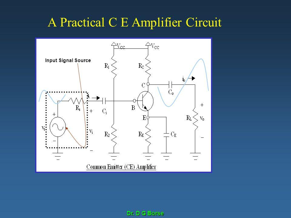A Practical C E Amplifier Circuit