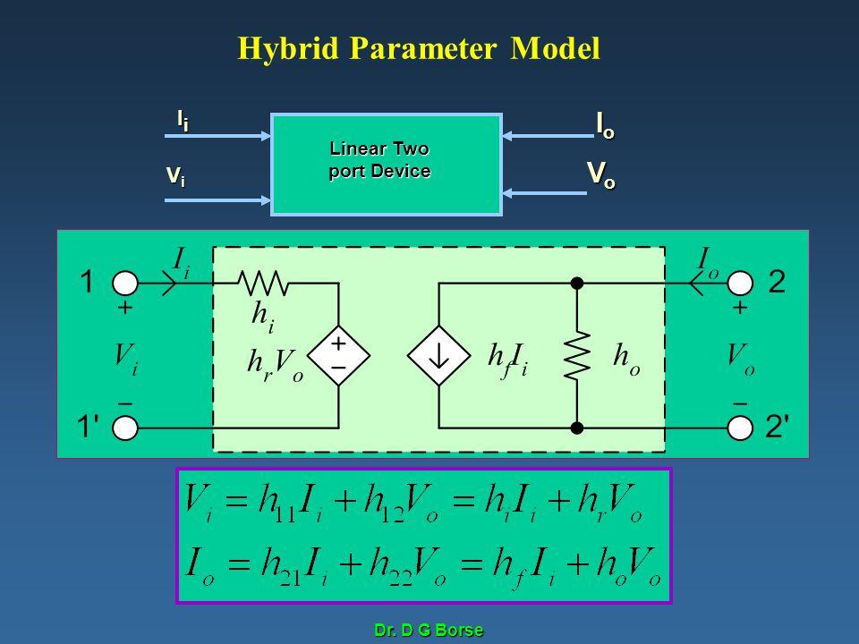 Hybrid Parameter Model