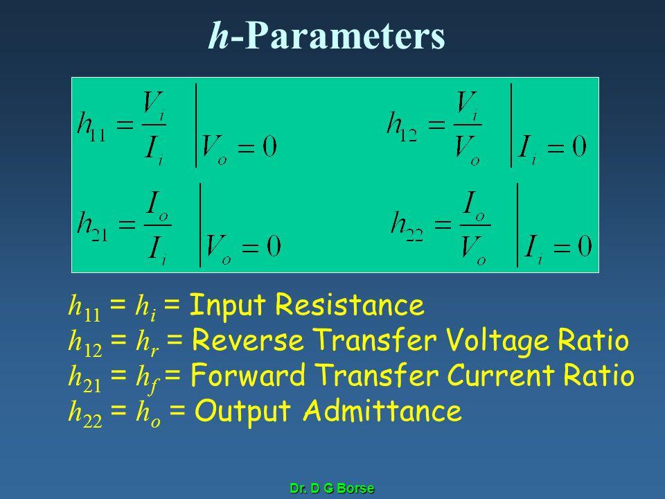 h-Parameters