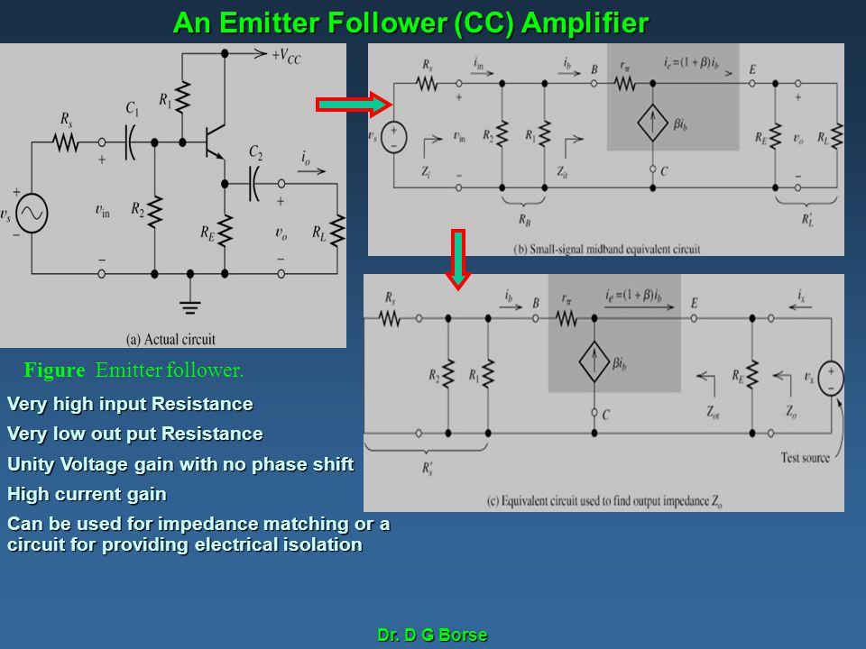 An Emitter Follower (CC) Amplifier