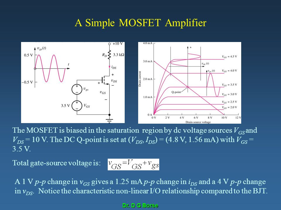 A Simple MOSFET Amplifier
