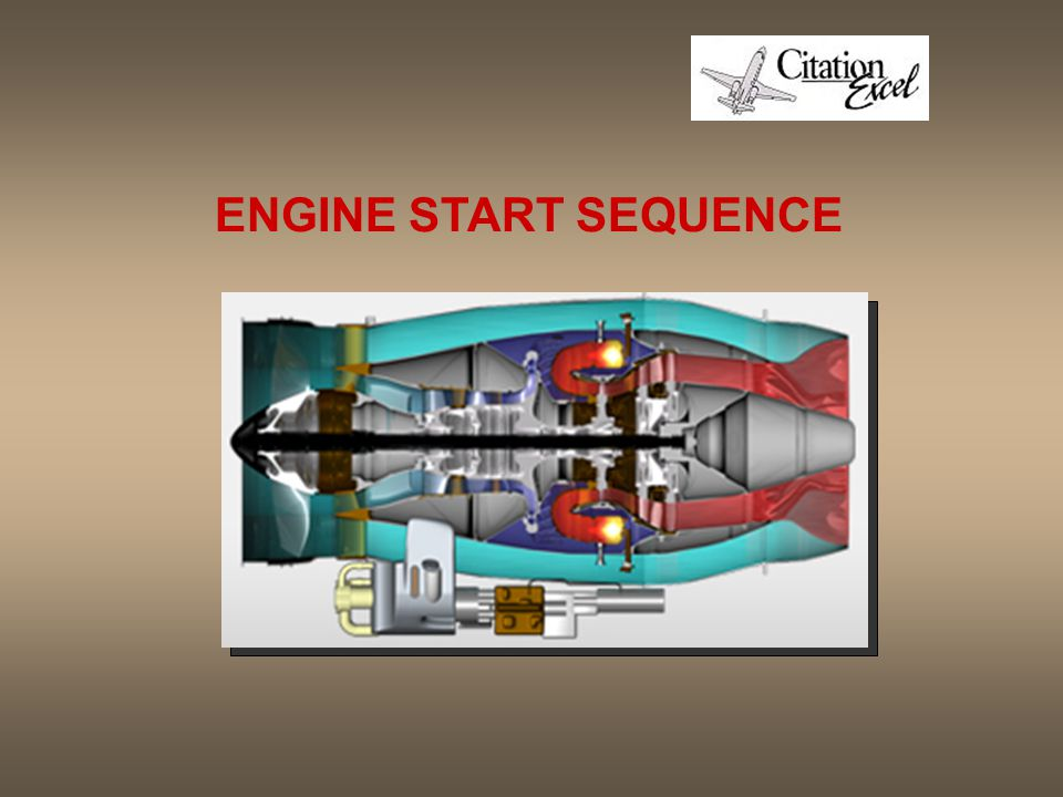 ENGINE START SEQUENCE