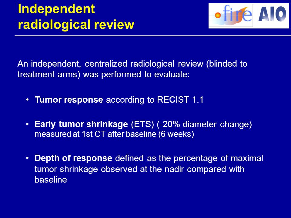Independent radiological review