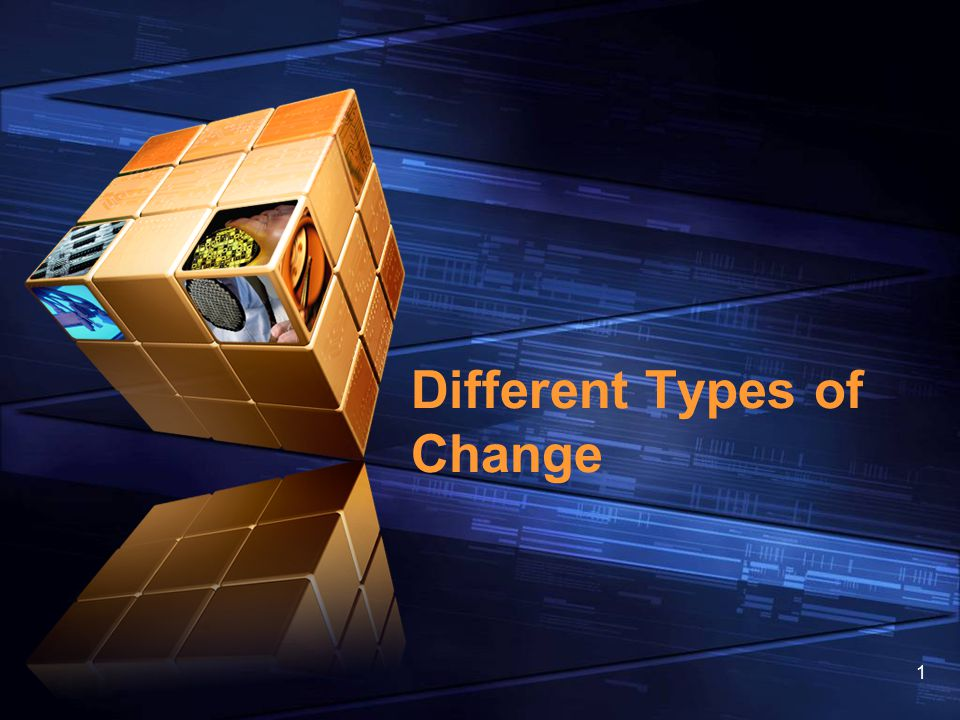 Different Types of Change
