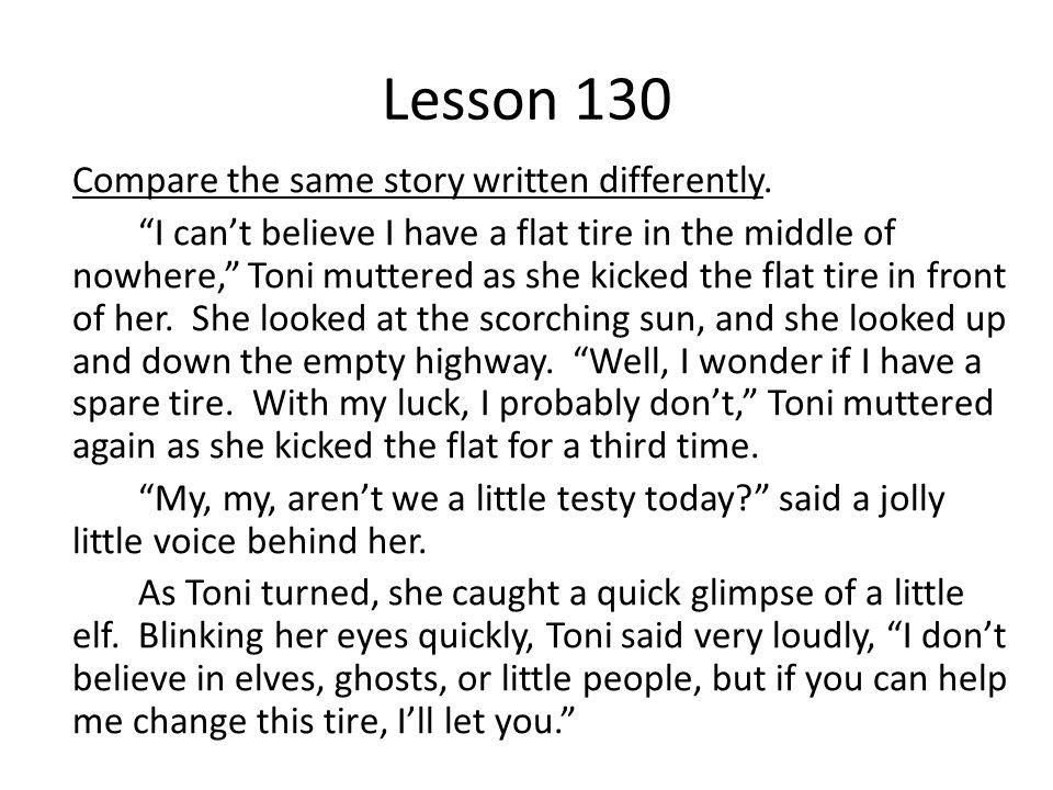 Lesson 130