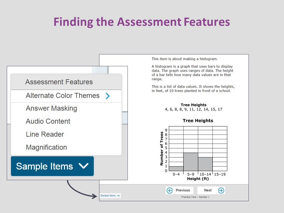 Finding the Assessment Features