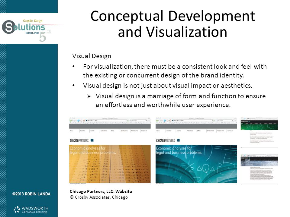 Conceptual Development and Visualization