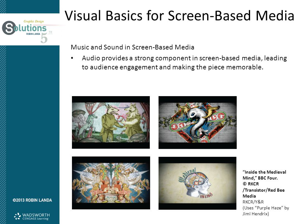 Visual Basics for Screen-Based Media