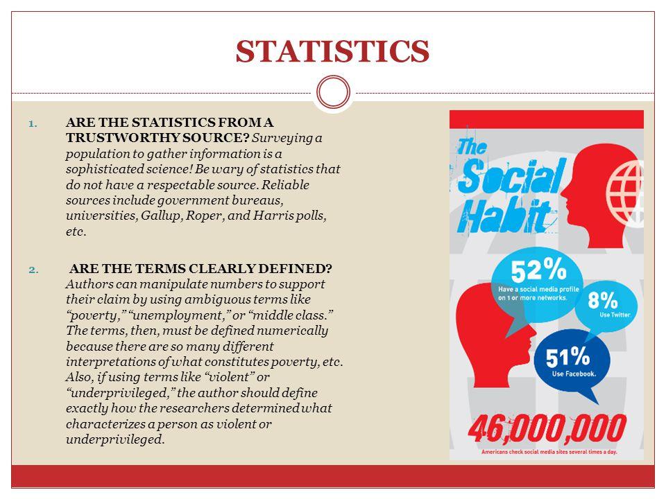 STATISTICS