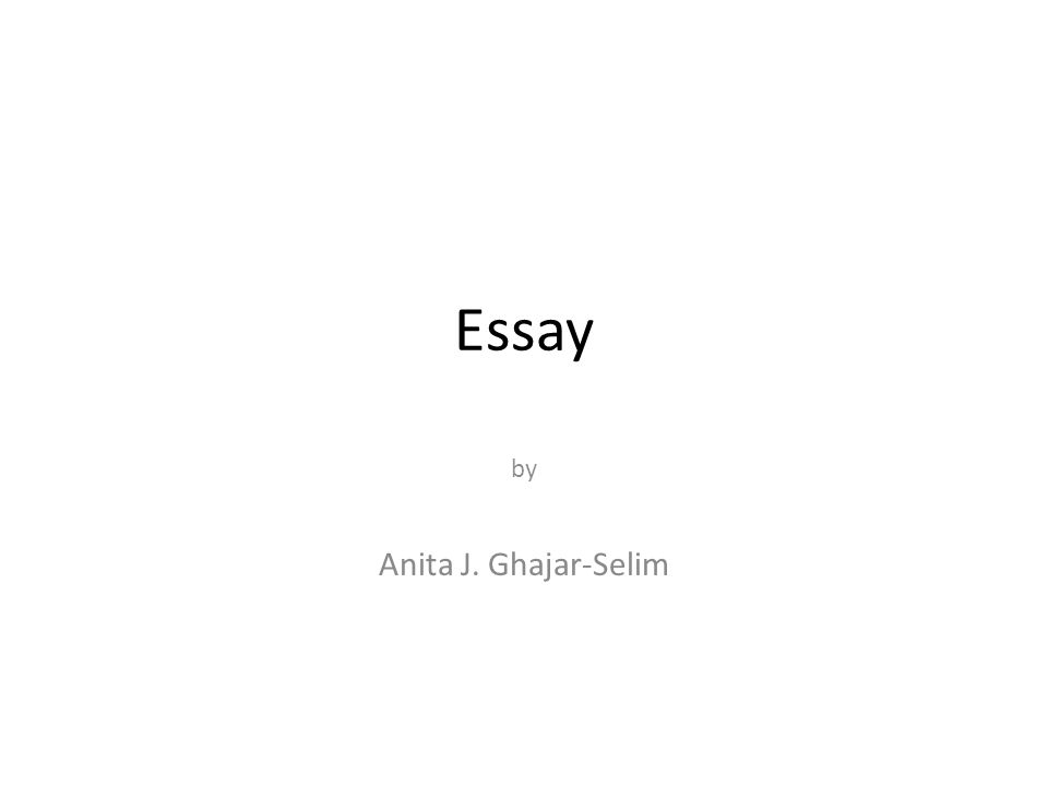 Essay Reference In Introduction