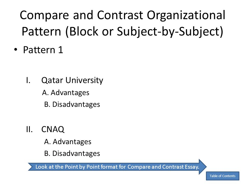 write compare contrast essay block format Compare and contrast essay detailed writing guide with structure patterns, introduction and conclusion techniques, useful examples, tips and best practices.