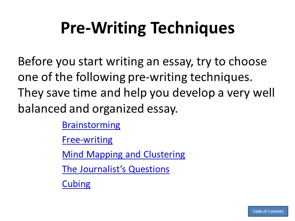 english writing techniques Writing technique - general wiki here are some simple tips for writing letters and using the reader's language ideally extends to spelling for us-english or.