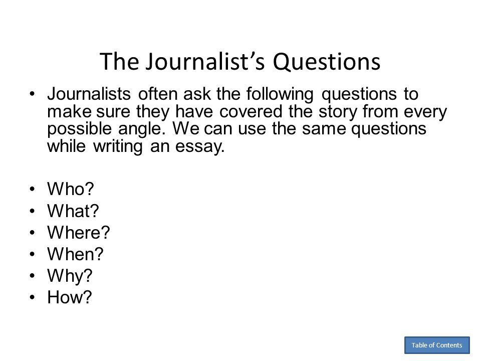 by anita j ghajar selim ppt  the journalist s questions
