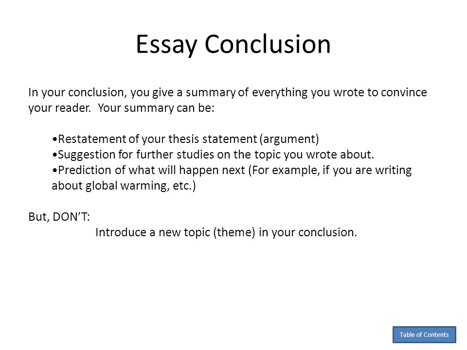 Global warming essay conclusion