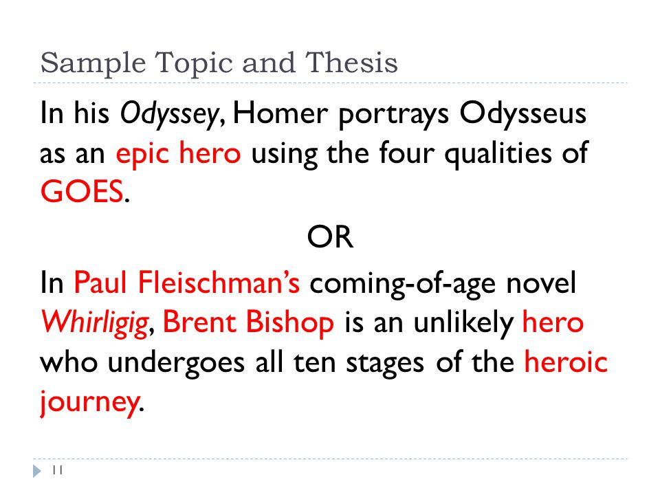 Why is odysseus an epic hero essay