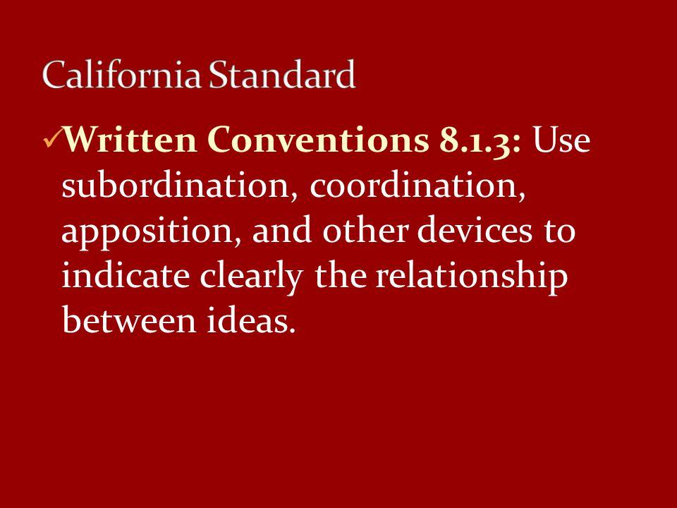 California Standard