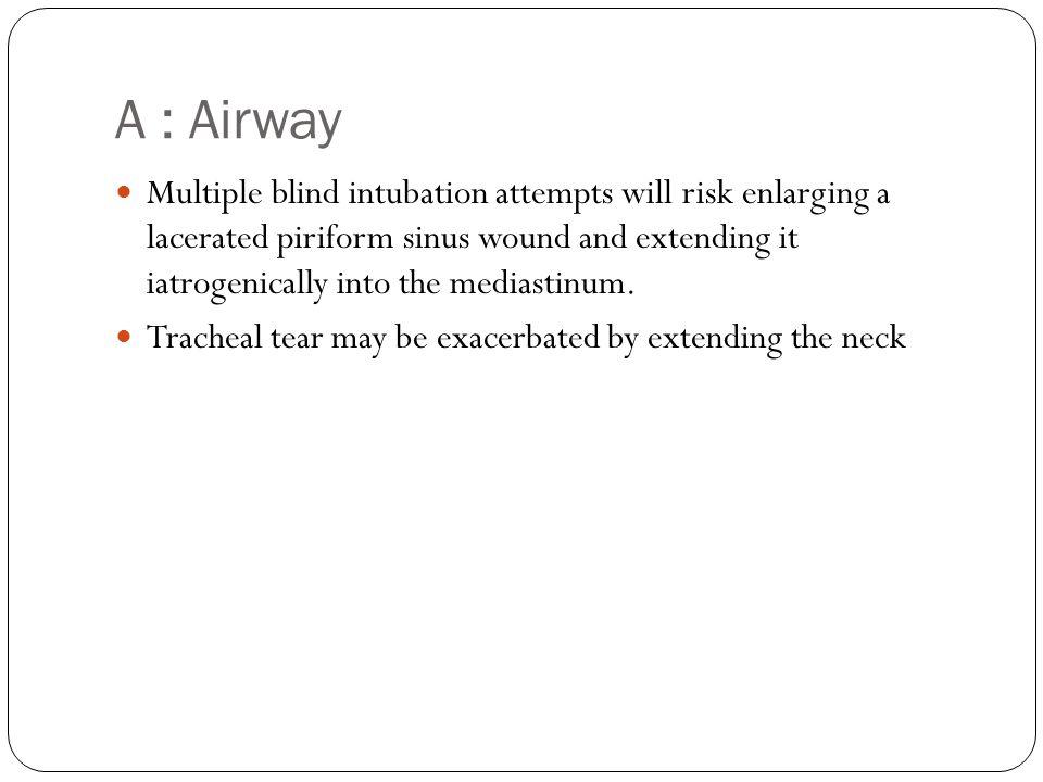 A : Airway