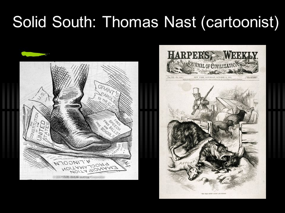 Solid South: Thomas Nast (cartoonist)