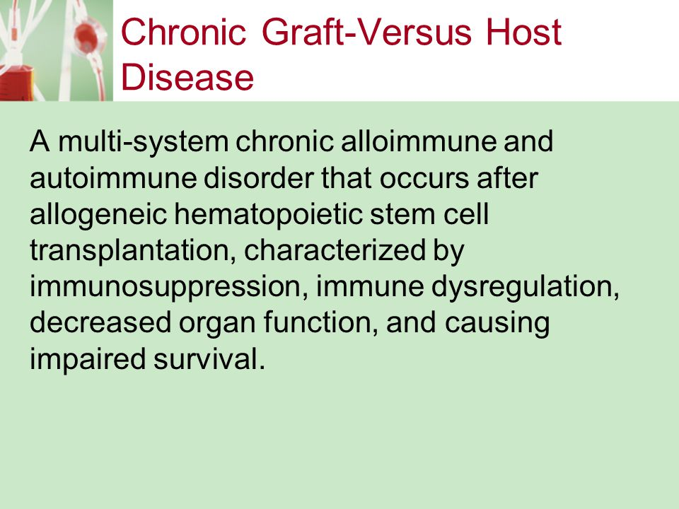 Chronic Graft-Versus Host Disease