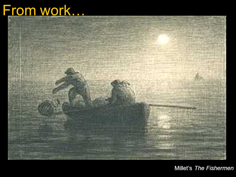 Millet's The Fishermen