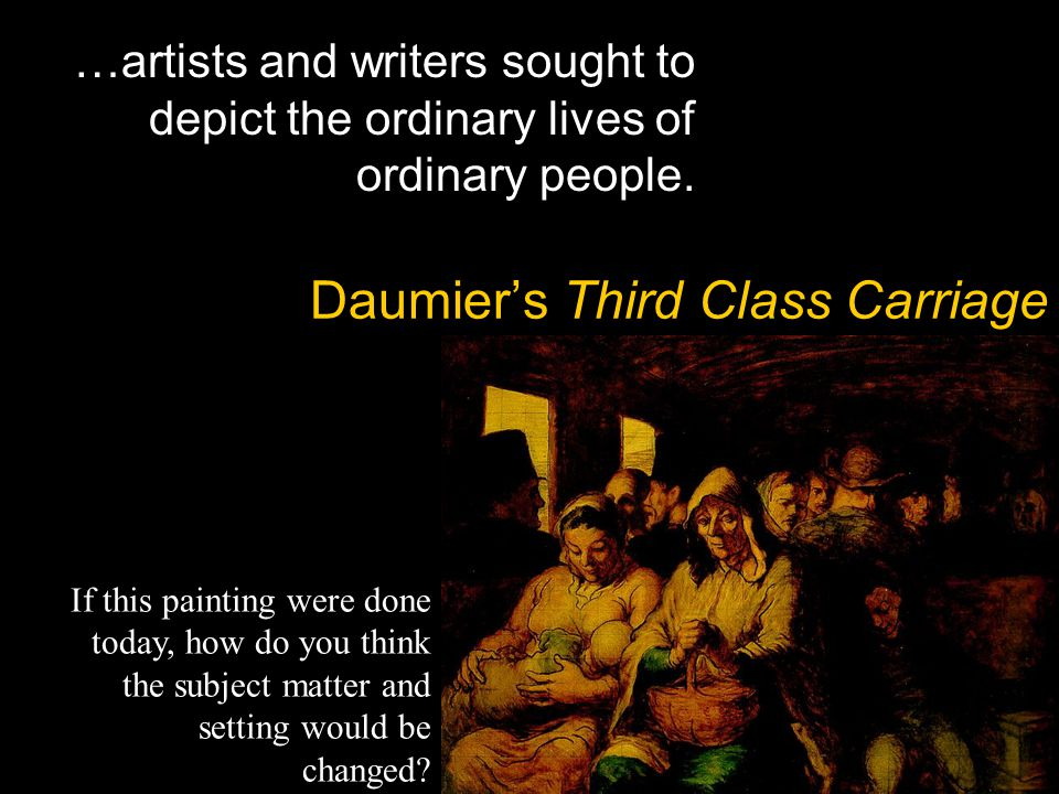 Daumier's Third Class Carriage
