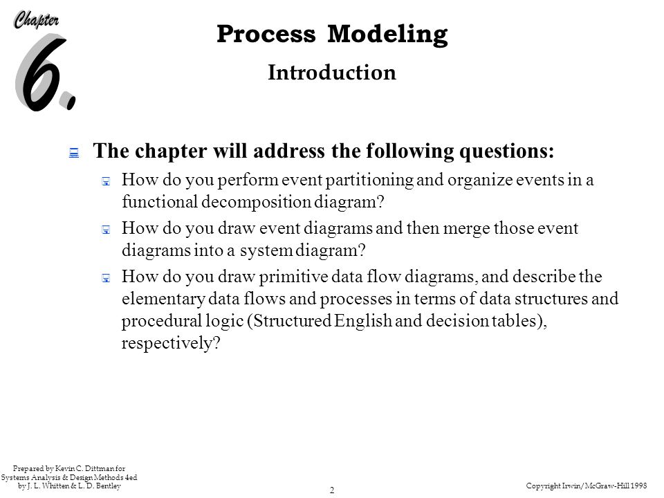 The chapter will address the following questions: