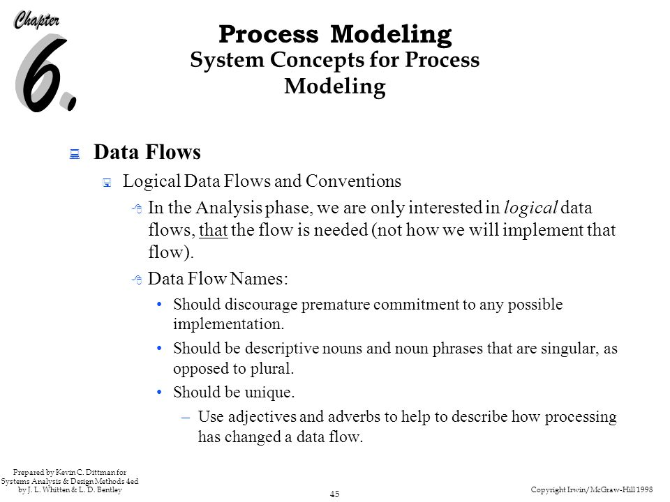 System Concepts for Process Modeling