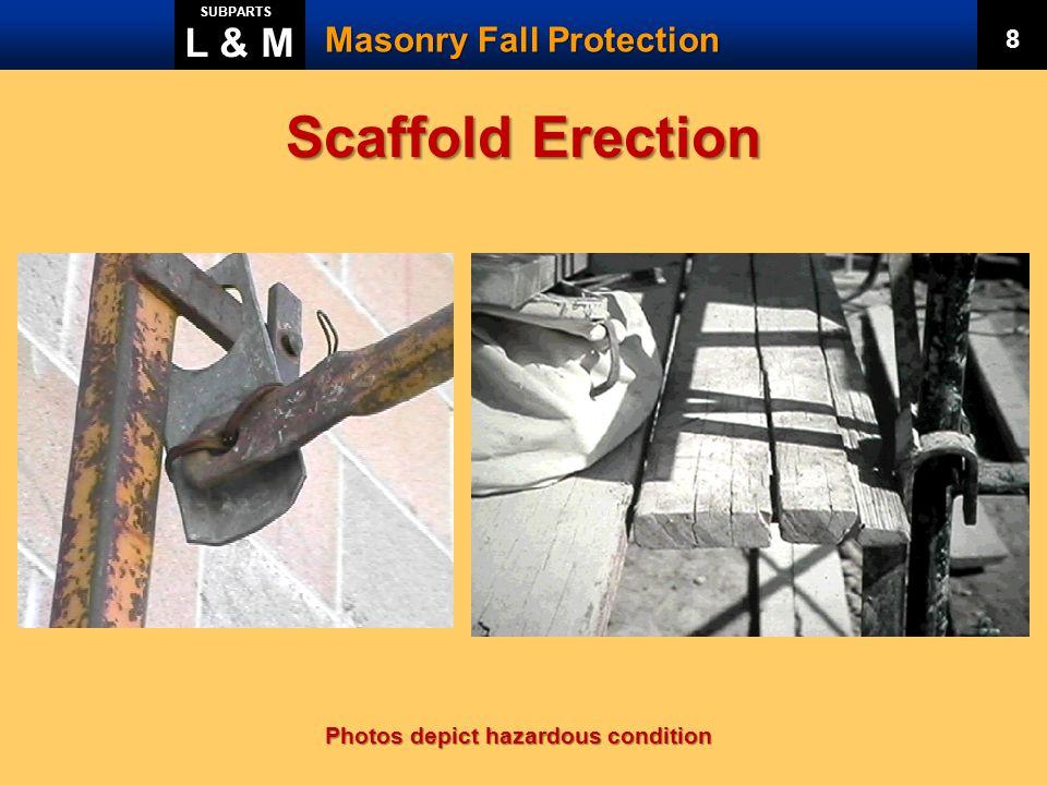 Scaffold Erection L & M Masonry Fall Protection 8