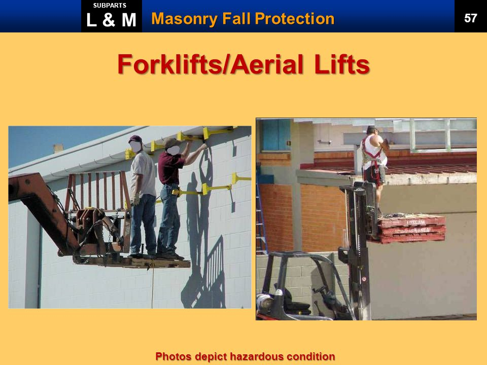 Forklifts/Aerial Lifts